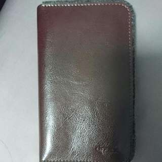 Dpark Leather Phone Pouch Cum Wallet