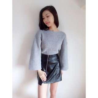 韓版純色圓領針織毛衣-4色