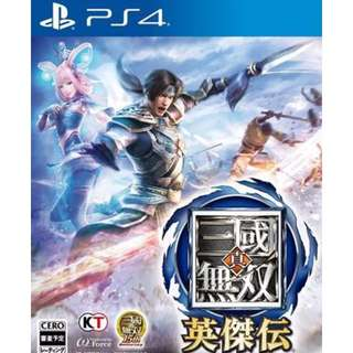 Brand New (PS4)(R3) Dynasty Warriors Eiketsuden (Chinese)