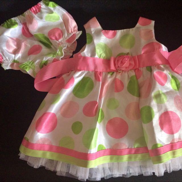 3-6mos baby girl dress
