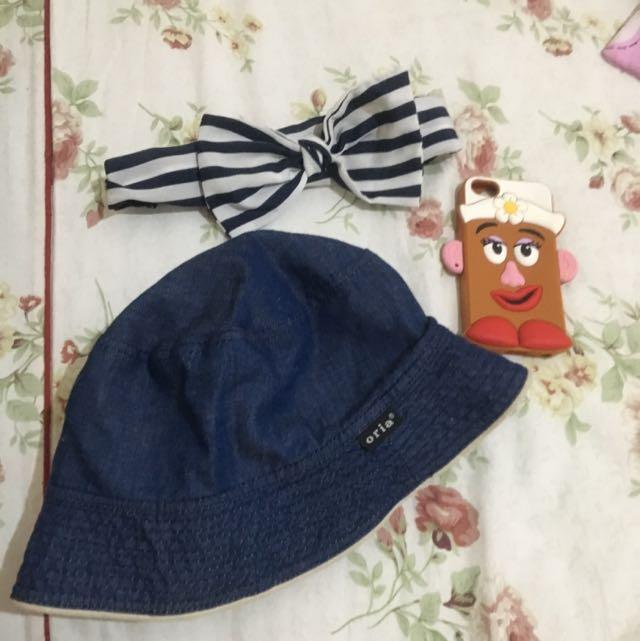 髮帶5s手機軟殼 漁夫帽 都20