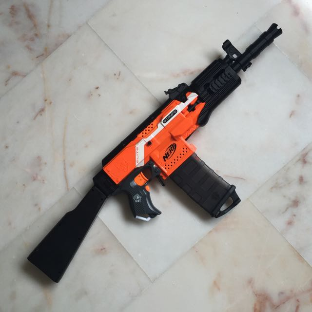 This is a great toy AK 47 and gets a good review from our team.