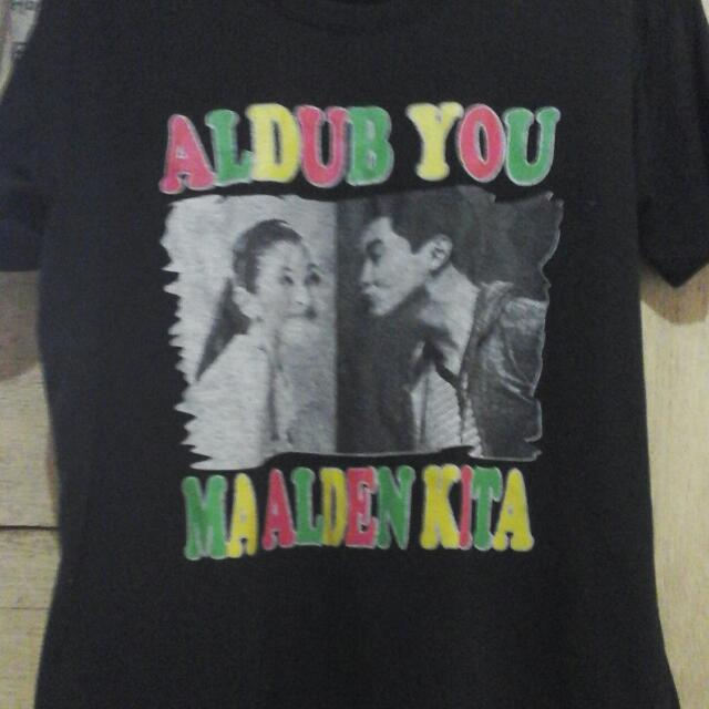 Aldub Black Shirt