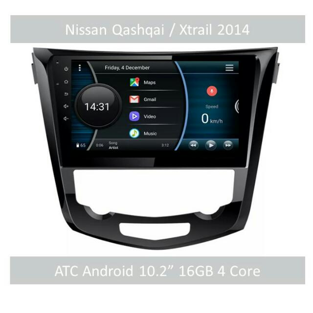 ATC Android In Car Head Unit Qashqai