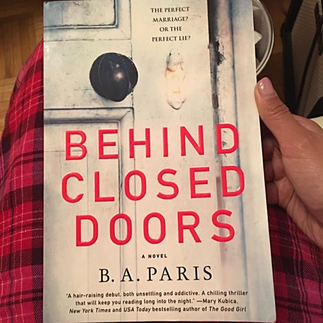 Behind Closed Doors (novel) By B.A. Paris