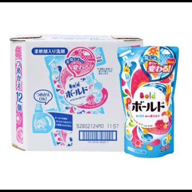 現貨供應/單袋-Bold 洗衣精添加柔軟精(日本製)