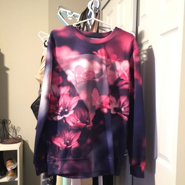 Brand New Floral Sweater