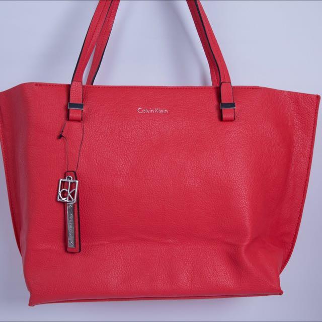 Calvin Klein CK橘紅包包