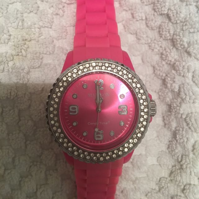 Candy Time Madison Silicone Watch