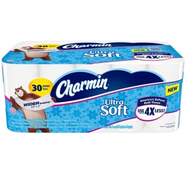 Charmin 超柔捲筒衛生紙 231張 X 30捲(宅配)免運費