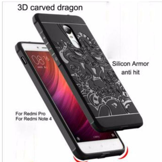 Cocose Case Dragon Xiaomi Redmi Original