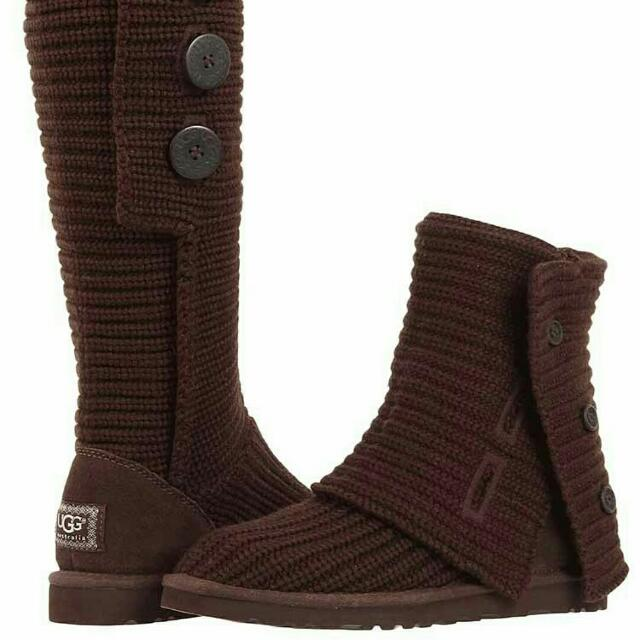 Dark brown Ugg Cardy's SIZE 9