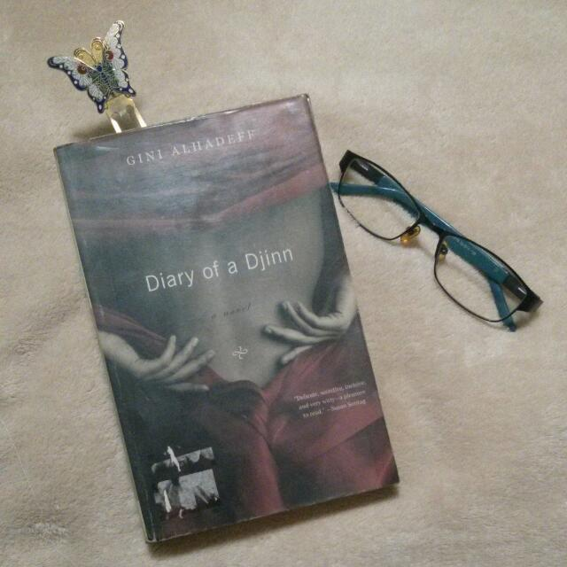 Diary Of A Djinn by Gini Alhadeff