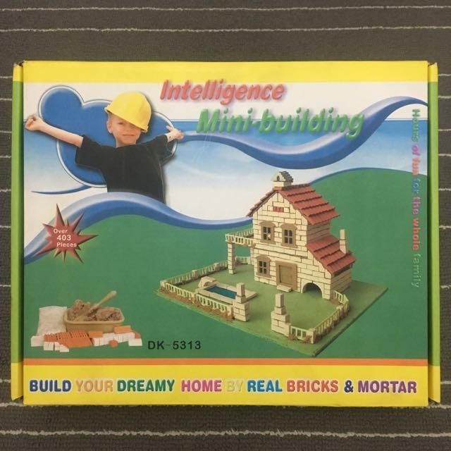 DIY Intelligence Mini Building - Swimming Pool