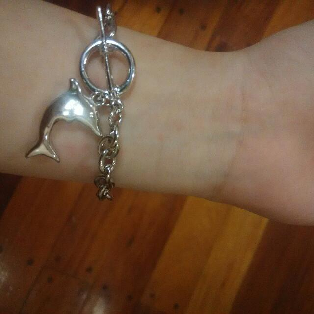 Dolphin Charm Stainless