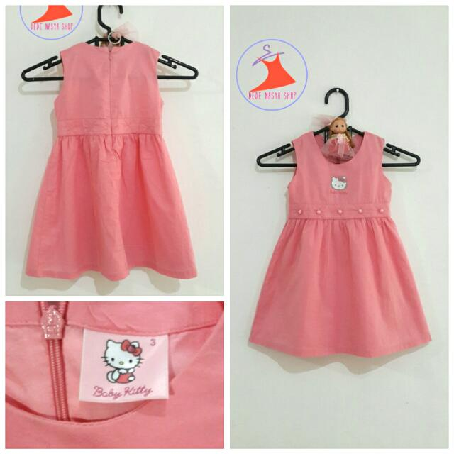 Dress Hello Kitty Peach