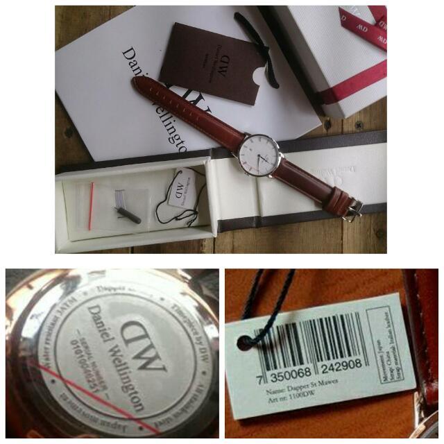 DW Daniel Wellington Leather Watch Original