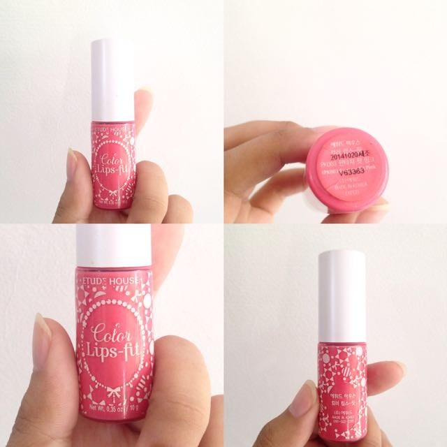 ETUDE HOUSE Color Lips-fit Fantasy Fit Pink