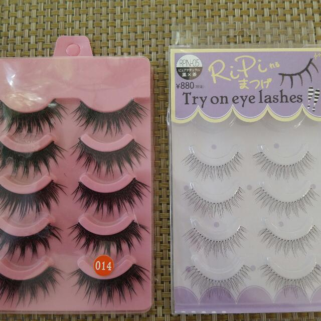 PINK ONE LEFT !! FALSE LASHES / Falsies from JAPAN