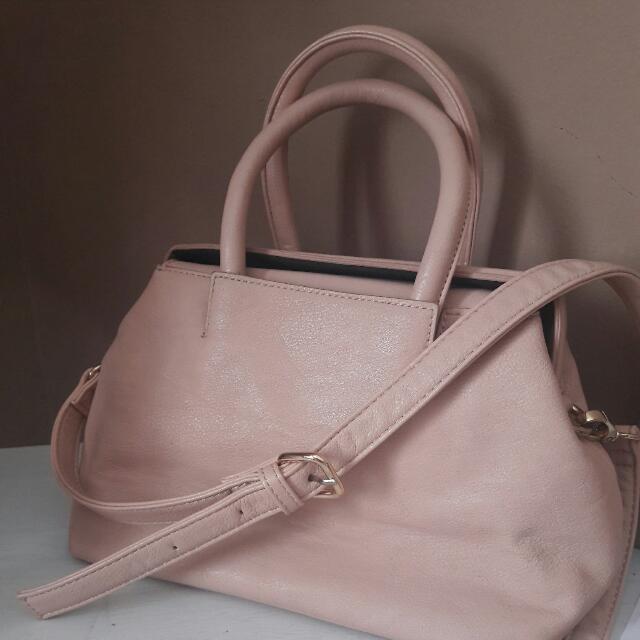 FOREVER 21 Pink Rose Sling Bag