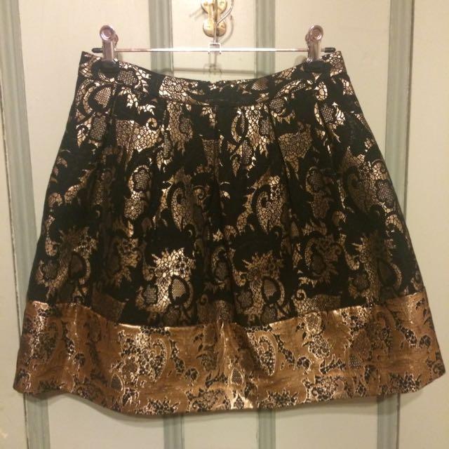 Forever New Brocade Skirt