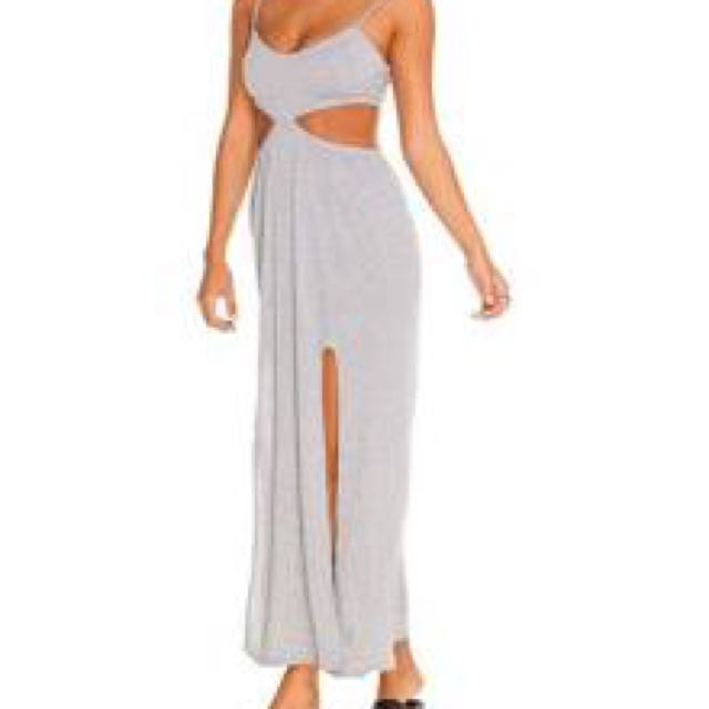 Grey Mooloola City Beach Dress