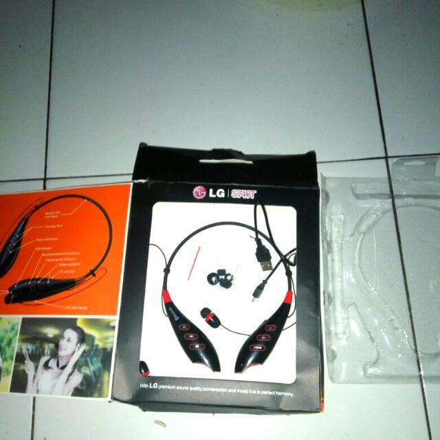 Headseat Bluetooth/Bluetooth stereo