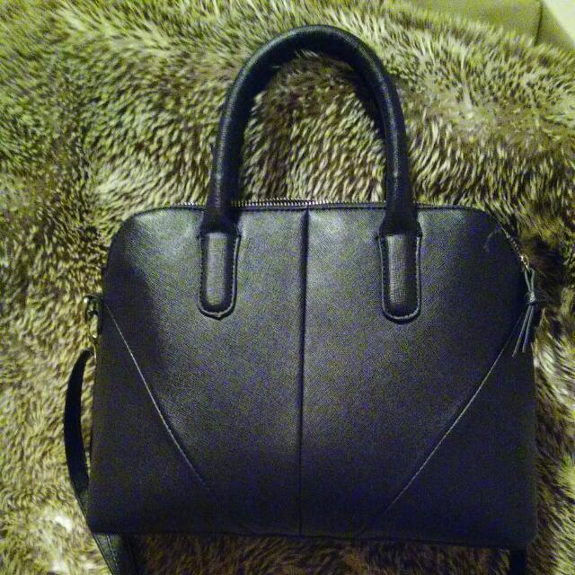 H&M navy blue purse