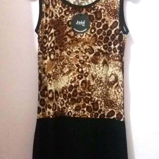 JOIN Leopard Dress