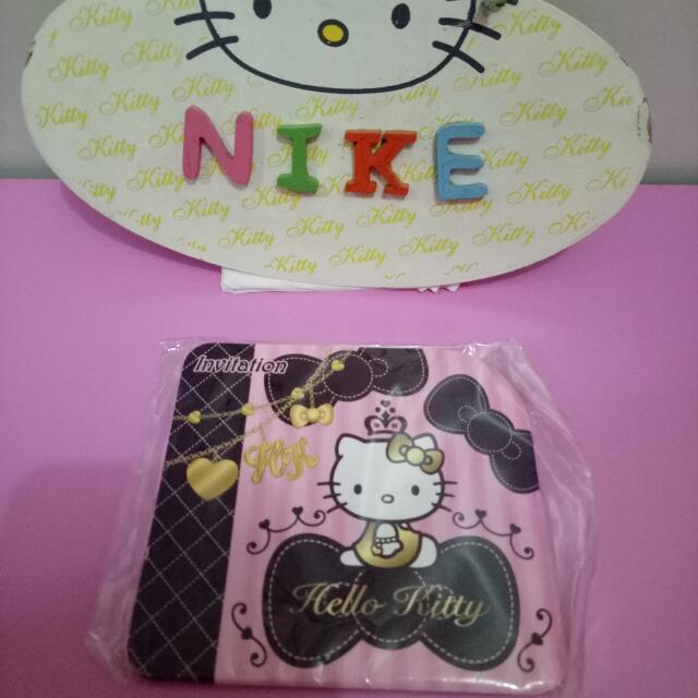 Kartu Undangan Hello Kitty