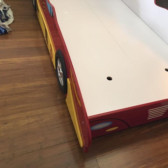 Kids Single Car Bed