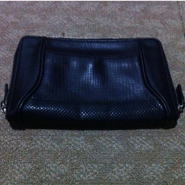 Leather pouch from Japan