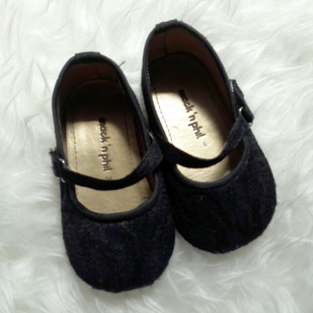 Mack 'N Phil Maddie Shoes Black Sz.26