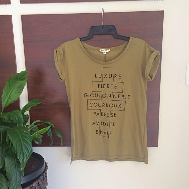 Moolooa Printed Tshirt