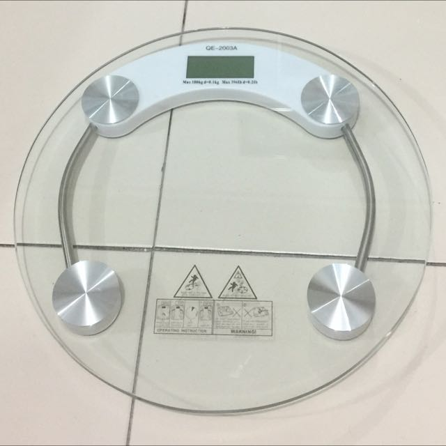 RESERVED**MOVING OUT SALE - $15** Digital Weighing Scale