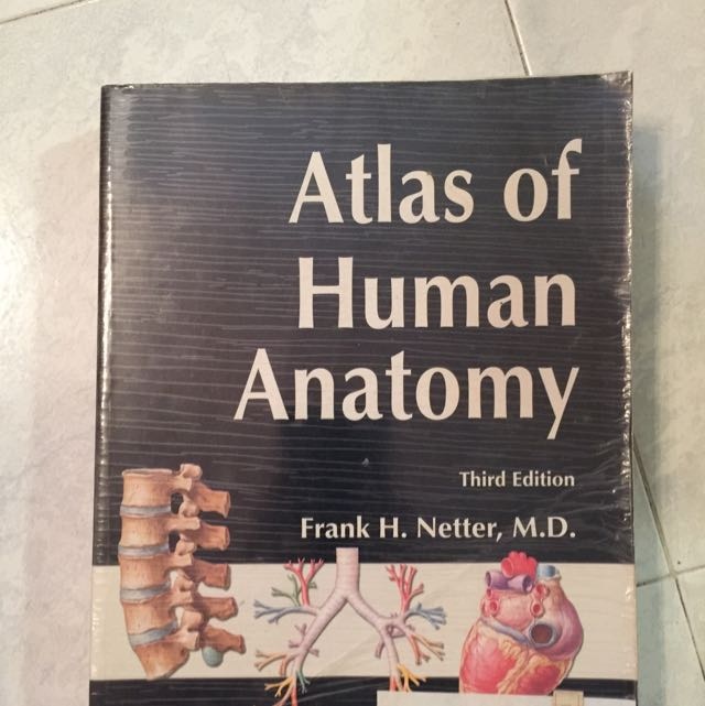 Netter Atlas Of Human Anatomy Books Stationery Textbooks On