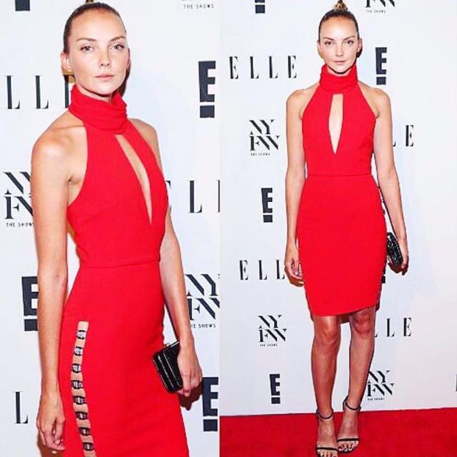 New Vatanika Sexy Red Dress