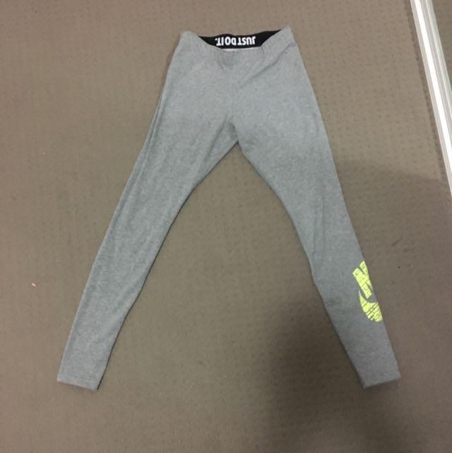 Nike Grey Tights