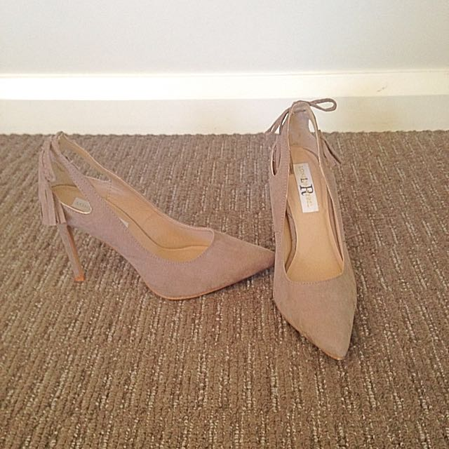 Nude Suede Shoes
