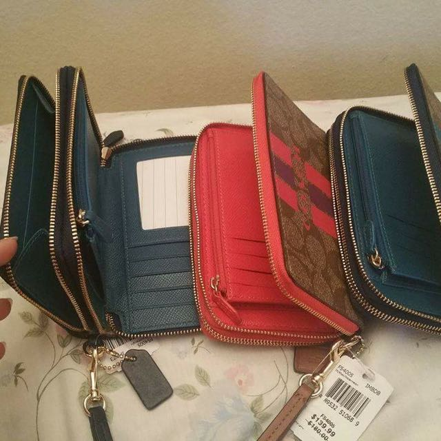 Original Coach Wristlet Wallet