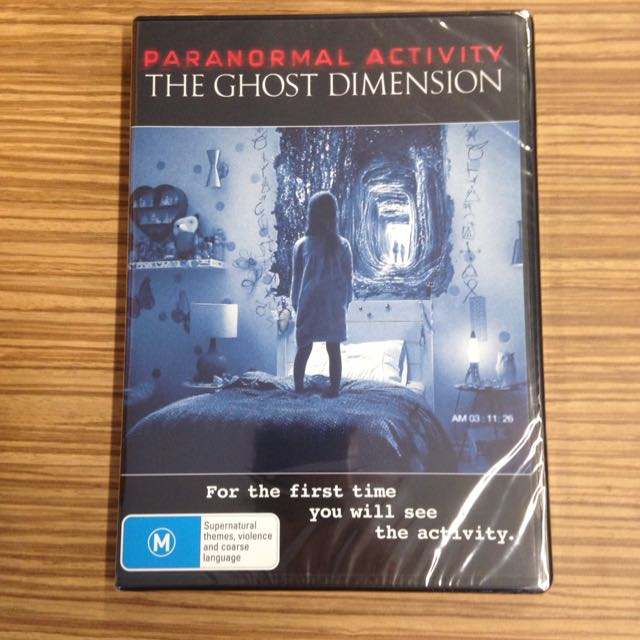 Paranormal Activity: The Ghost Dimension DVD