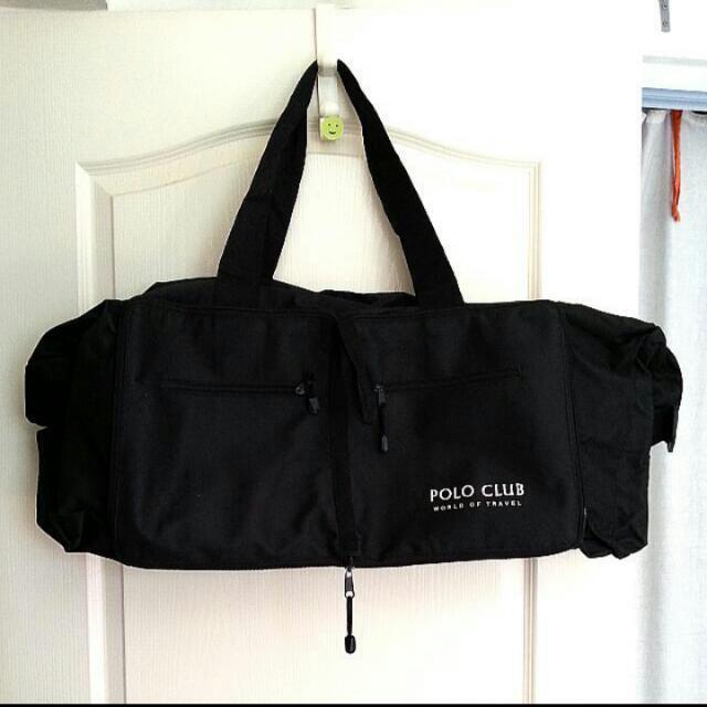 be097d62439 Polo Club World of Travel Bag (Black Colour), Men's Fashion, Bags ...