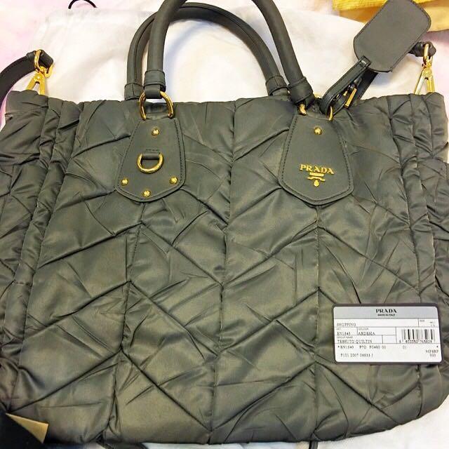 PRADA手提包(可肩背)BN1543