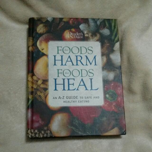 Reader's Digest Foods That Harm And ~