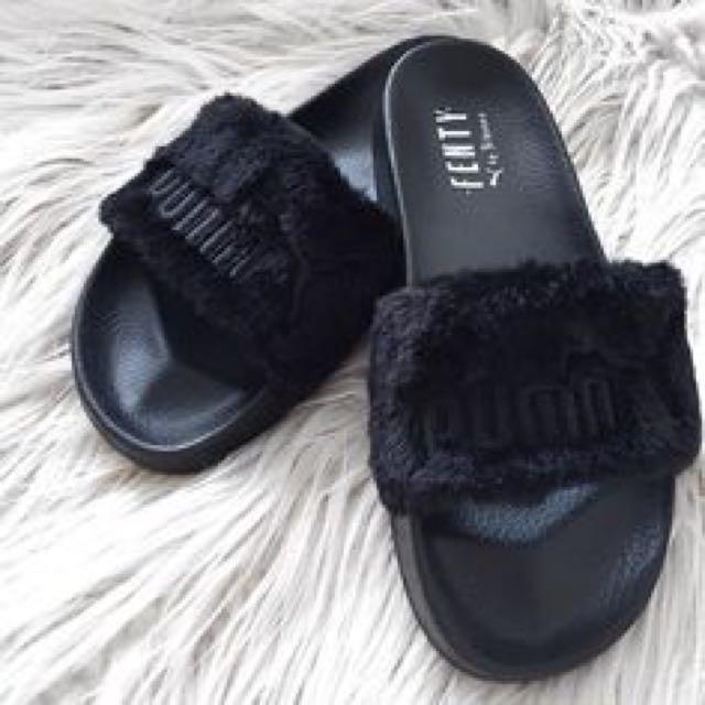 695491bad0bb Rihanna x Puma Fenty Fur Slides