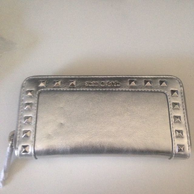 Sass and Bide Leather Pouch Bag