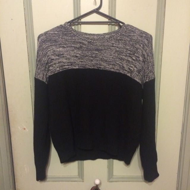 SILENT THEORY Knitted Jumper