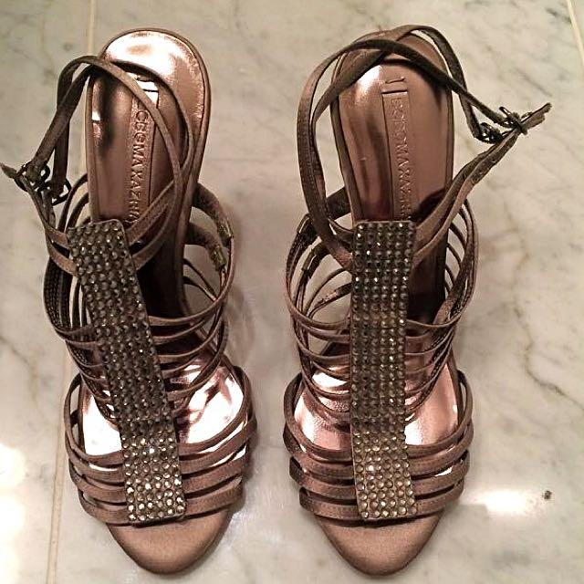 Size 8 BCBG Shoes With Rhinestones