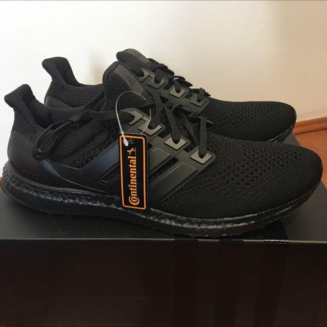 Triple Black Ultraboost US12.5 - UK12