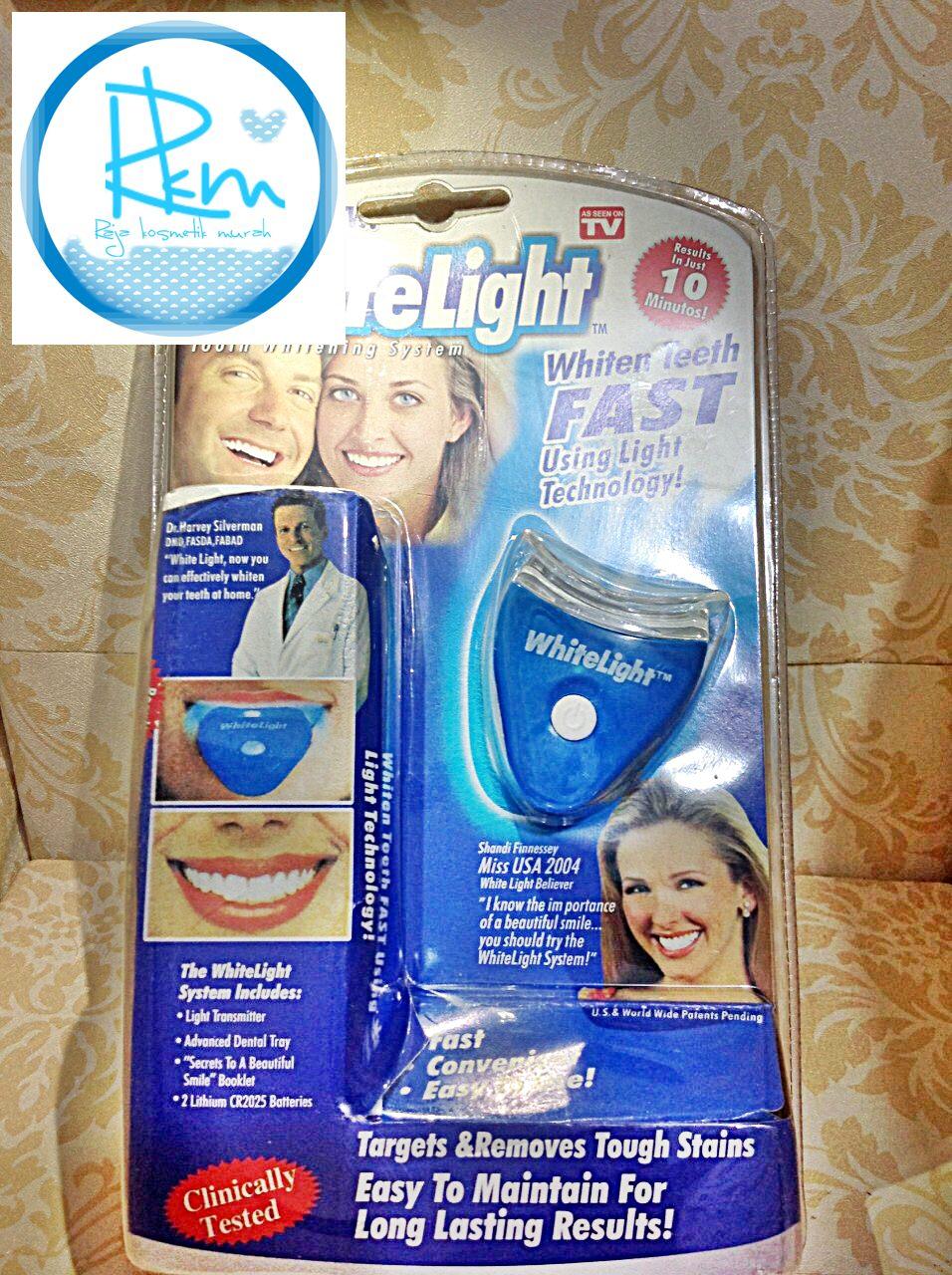 WHITELIGHT TEETH WHITENING   PEMUTIH GIGI d3711633cf